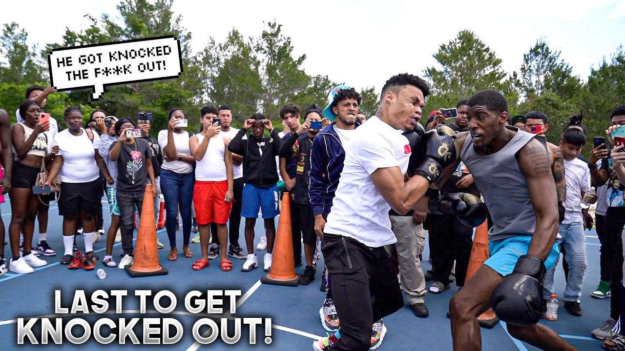 LAST TO GET KNOCKED OUT IN ORLANDO PART 2!