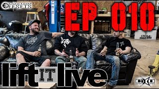 Lift it LIVE EP 010: Know Your Shocks