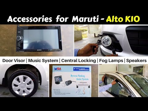 Accessories for Alto K10 with Prices | Hindi | Ujjwal Saxena