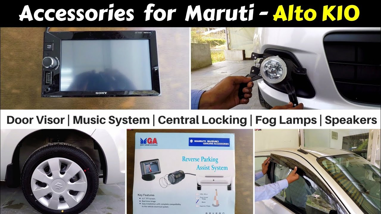 Accessories For Alto K10 With Prices Hindi Ujjwal Saxena Youtube