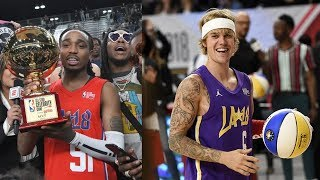 NBA All-Star Celebrity Game 2018 Justin Bieber Quavo MVP Rachel 2K