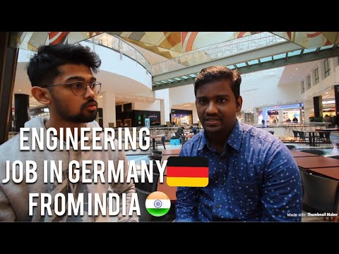 HE GOT JOB IN ENGINEERING IN GERMANY DIRECTLY FROM INDIA