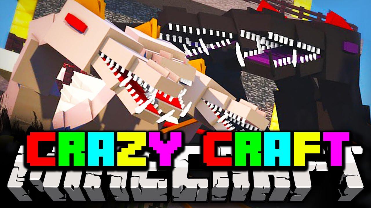 Crazy craft 3 0 trailer funnycat tv for Http test voidswrath com modpacks crazy craft 3 0