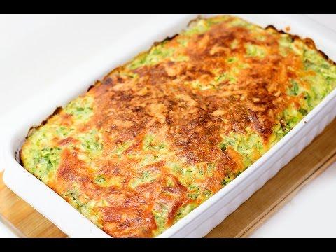 запеканка из кабачков с сыром в духовке рецепты пошагово с