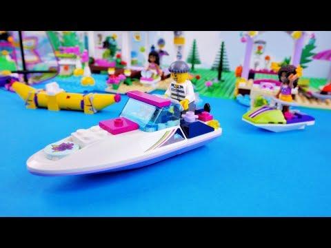 Kradzież Nowej Motorówki Andrei Bajka Po Polsku Z Klockami Lego