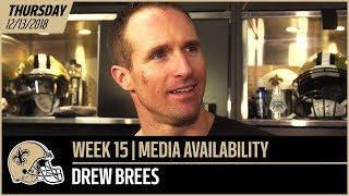 """Drew Brees: """"We want to continue to play our best football"""" 