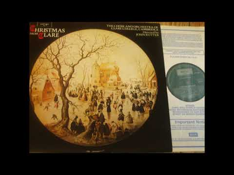 John Rutter Et Al : Christmas From Clare, Carols For Chorus And Orchestra (on Argo LP ZRG 914)