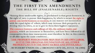 Preamble to Bill of UNALIENABLE Rights