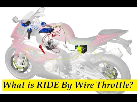 What is RIDE By Wire Throttle - KTM RC 390 2017 Reference.