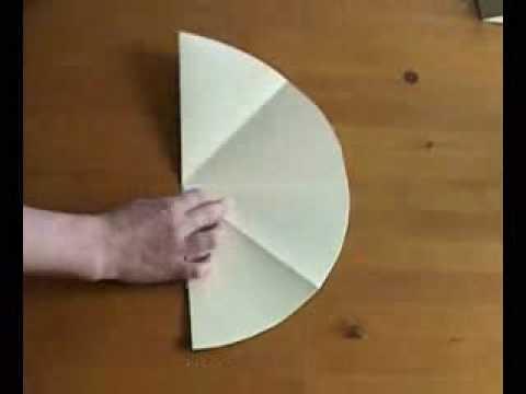 0d4997dd92cd7 Sombrero de papel - YouTube