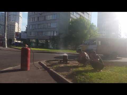 Плов во дворе Москва метро молодежная на газе