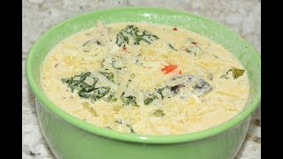 Vegetarian Zuppa Toscana Recipe - Easy Winter Soup Recipe