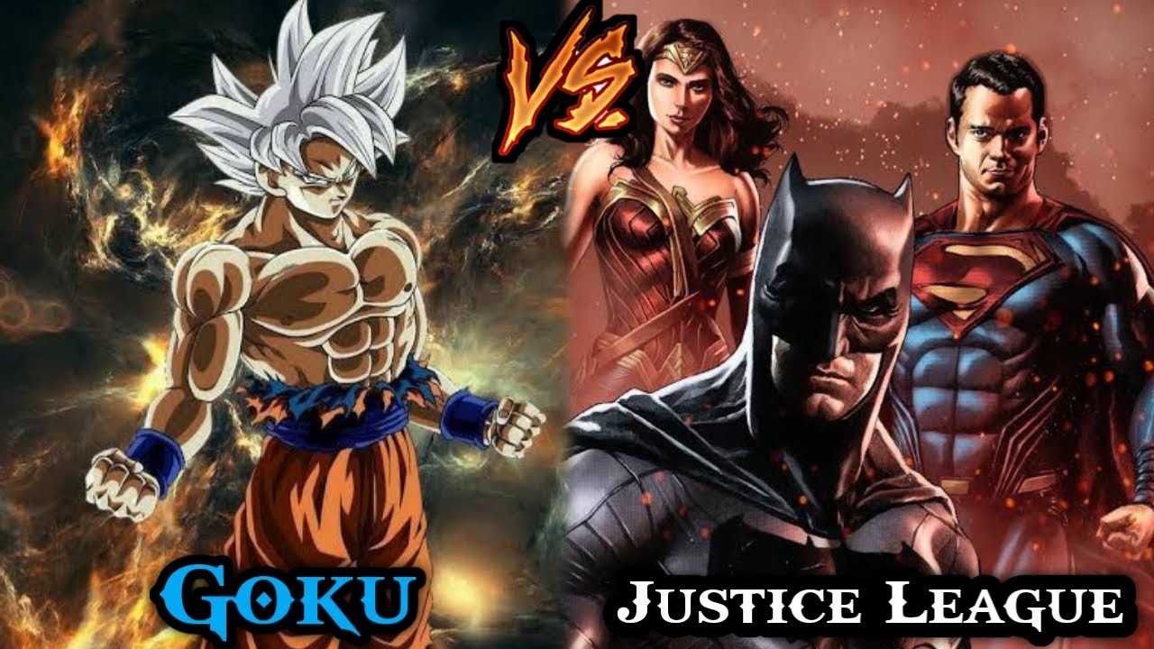 Download Goku Vs Justice league part // Who Will Win ? Dragon Ball Vs DC