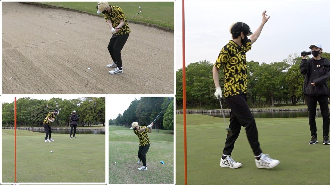 【今の実力】ヒカルがゴルフ人生初の18ホールプレーで驚愕のスコア叩き出しました…