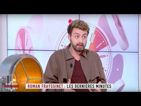Roman Frayssinet : les dernières minutes - Clique Dimanche du 22/04 - CANAL+