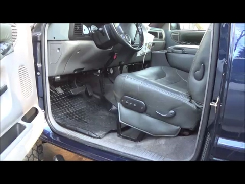 2nd Gen Dodge Ram Driver Seat Bottom Cushion Replacement