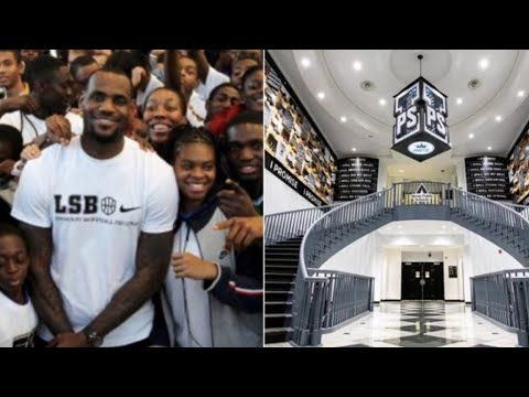 Lebron James Makes Historic Move Opening His I Promise School In Akron Ohio!