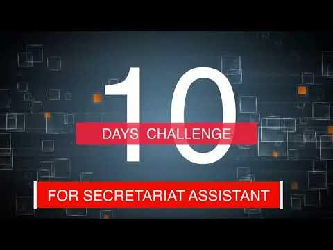 Secretariat Asst.10 Dayട Challenge