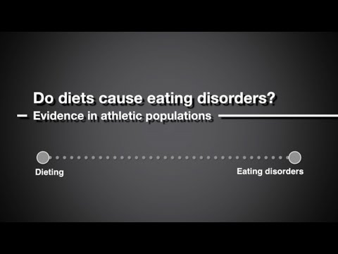 Do diets lead to eating disorders in athletes?