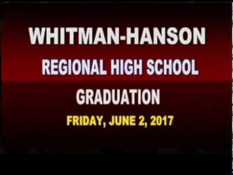2017 Whitman Hanson Regional High School Graduation