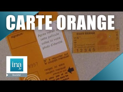 Comment Se Servir De La Carte Orange En 1975 ? | Archive INA