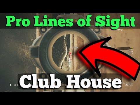 The SNEAKY Spots DIAMONDS USE on Club House - Rainbow Six Siege