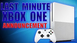 Microsoft Makes HUGE Last Minute Xbox One Announcement! This Is How Xbox Wins!