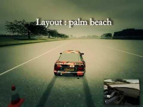 Live for speed xrt drift || Palm beach || 720p