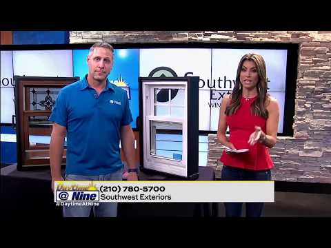 Southwest Exteriors Showcase their Window Replacement on Daytime @ Nine