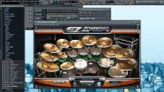 Follow the Signs Drums by EZ Drummer Metalheads + Keyboard [ Born of Osiris ]