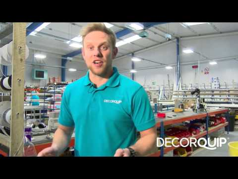 How to manufacture a Tiltrak 1000 Split Draw Cord Operated Vertical Blind Headrail
