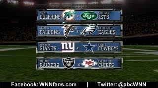 WEEK 8: NFL Picks Competition 2012