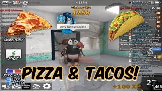 Pizza And Tacos! Roblox! (2018)