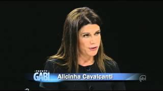 De Frente com Gabi (01/06/14) - Gabi recebe Alicinha Cavalcanti - Parte 1