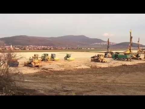 Nitra: Automobilka Jaguar Land Rover výstavba