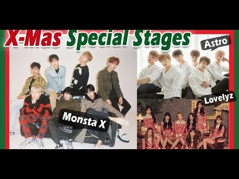 Performances from December 23rd 'Show! Music Core' Christmas special!(News)