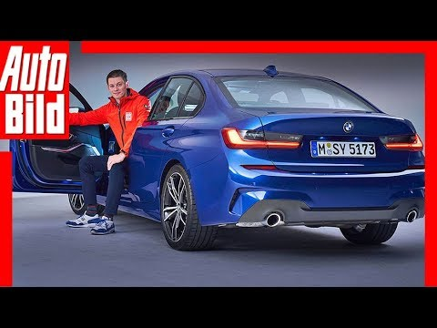 BMW 3er G20 (2018) Sitzprobe / Review / Details