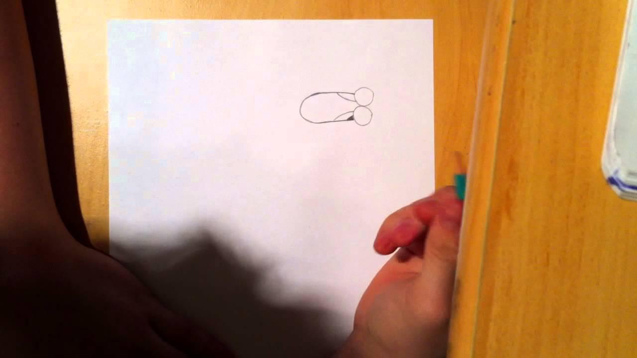 Dessiner un lapin apprendre dessiner une t te de lapin youtube - Lapin a dessiner ...