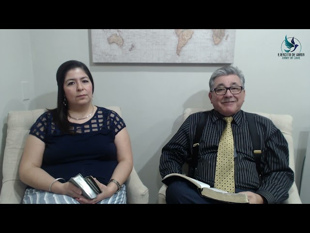 Santa Cena: Pastores Eduardo Y Blanca Urrea 092121