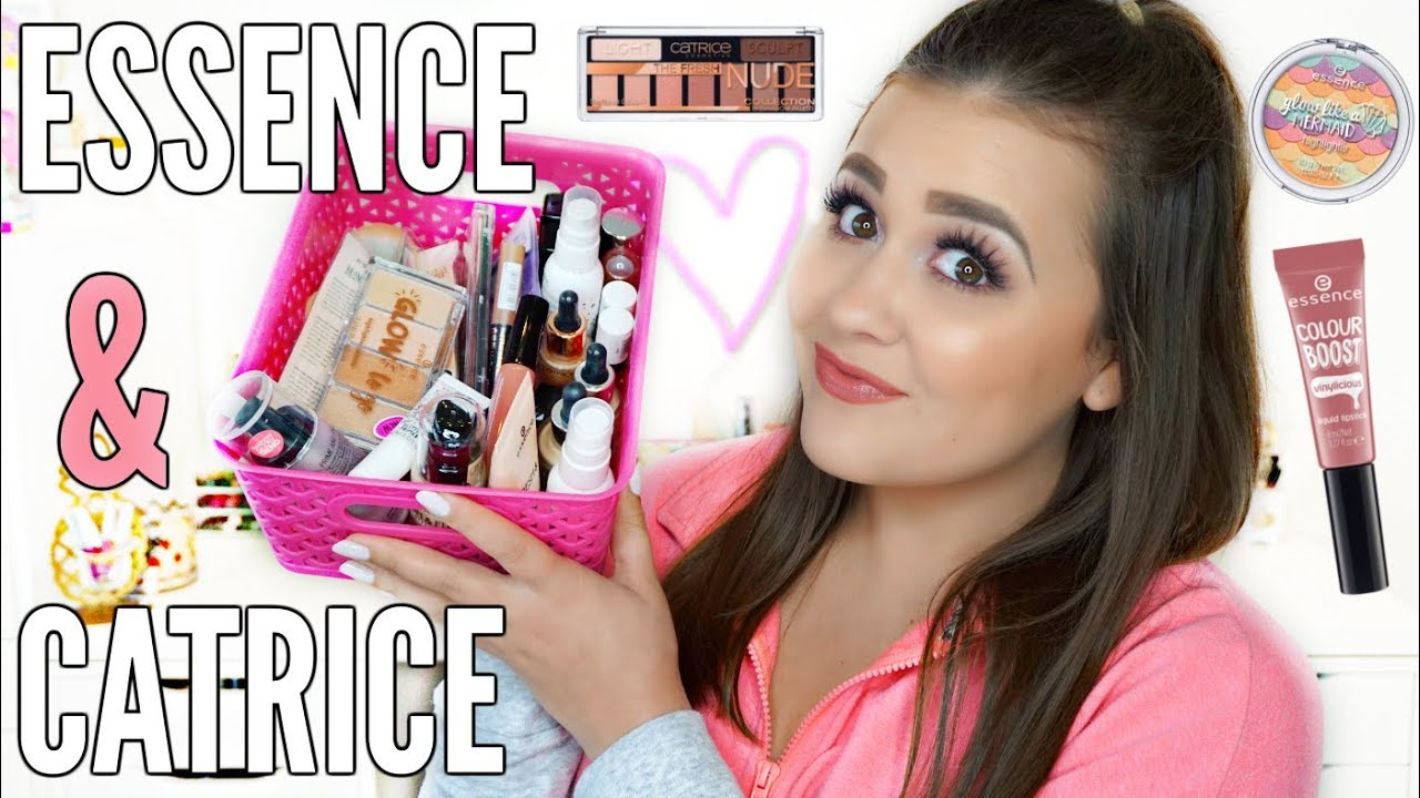 New At The Drugstore Essence Catrice Spring Summer 2018 Haul Jill Beauty Lip Matte 04 Rosy Blush Review Swatches