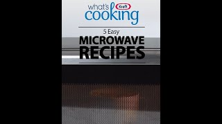5 easy microwave recipes