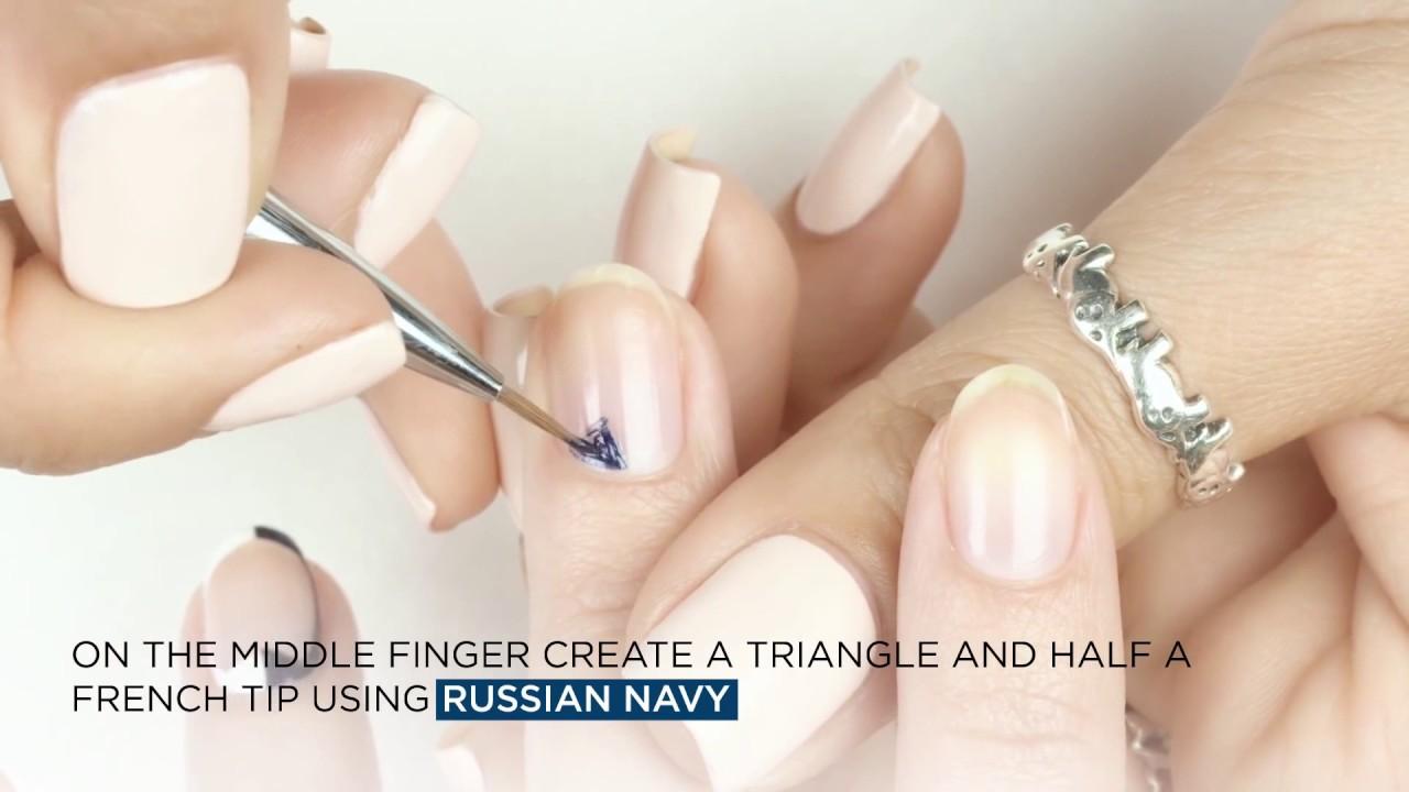 Opi Infinite Shine Application Nail Art Designs Youtube