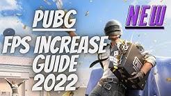 PUBG FPS INCREASE GUIDE 2019