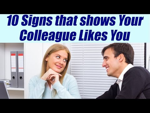 10 signs your Colleague likes you SECRETLY, पता करें क्या