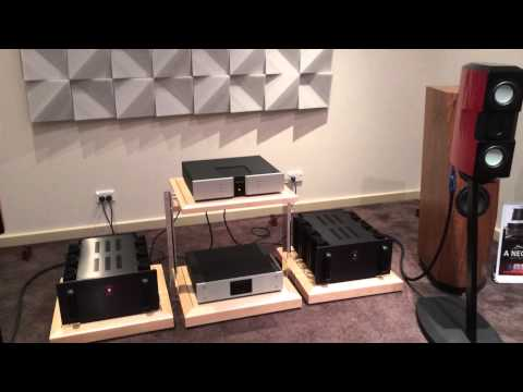 Evolution Acoustics MMMicro One LAMM Ref 1.2 Vitus Audio RCD100 Finite Elemente at Absolute Hi End