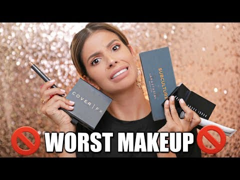 WORST MAKEUP PRODUCTS