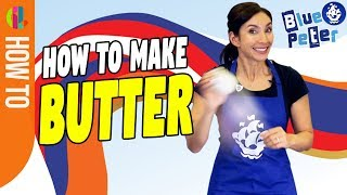 How to make instant butter!