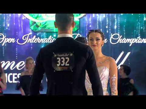 2017 Open Professional Ballroom Final at the Emerald Ball Dancesport Championships
