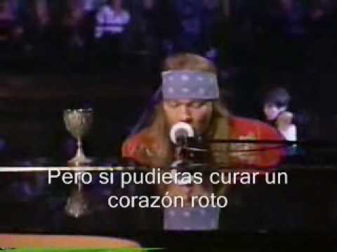 Guns N' Roses Ft. Sir Elton John - November Rain - En Vivo Subtitulado En Español