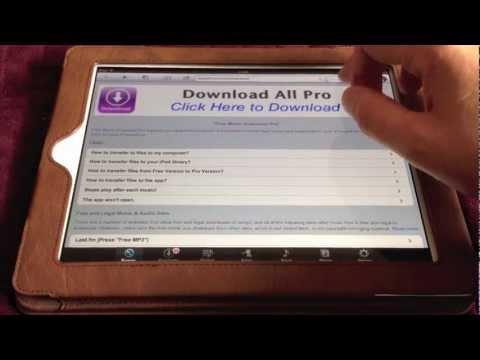 App Demo: Free Music Download Pro